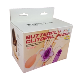 MyXToy® Butterfly Vibrating Clit Sucker